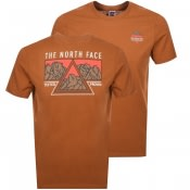 Product Image for The North Face Ridge T Shirt Brown